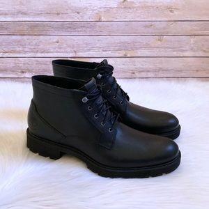 Sinfonía motivo Familiarizarse  Timberland Shoes | Timberland Black Elmhurst Waterproof Chukka Boots |  Poshmark